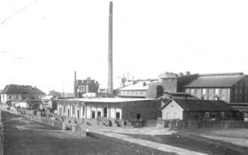 Bačinova továrna v roce 1920